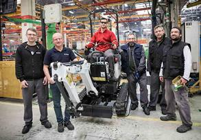 Bobcat E10 Mini Excavator Passes 10,000 in 10 Years