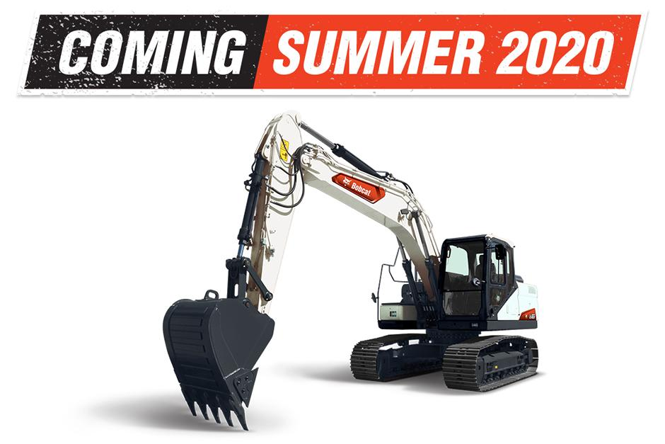 New Bobcat E165 Large Excavator Available Summer 2020