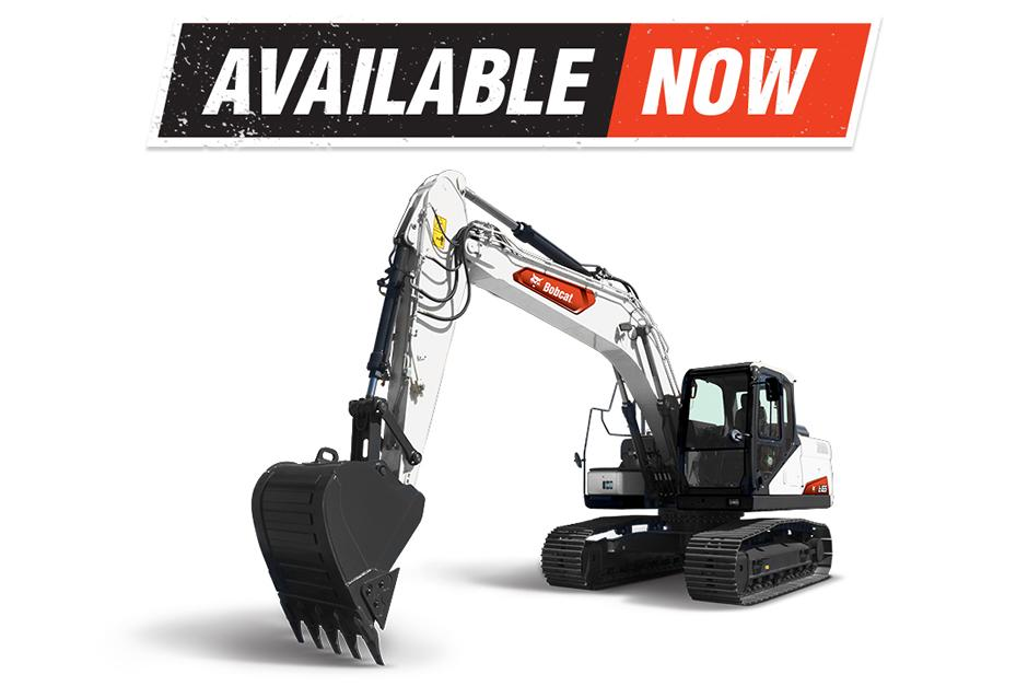 New Bobcat E165 Large Excavator Now Available