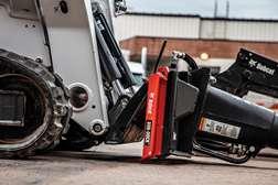 Bobcat Bob-Dock Attachment Mounting System