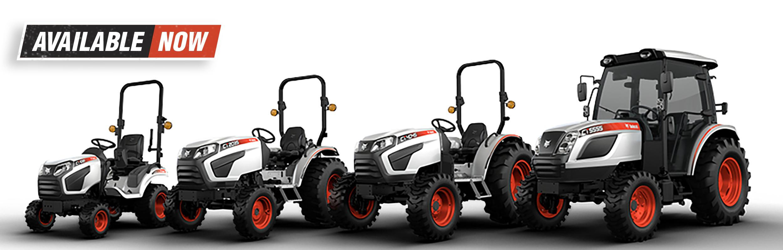 Bobcat Sub-Compact And Compact Tractor Lineup