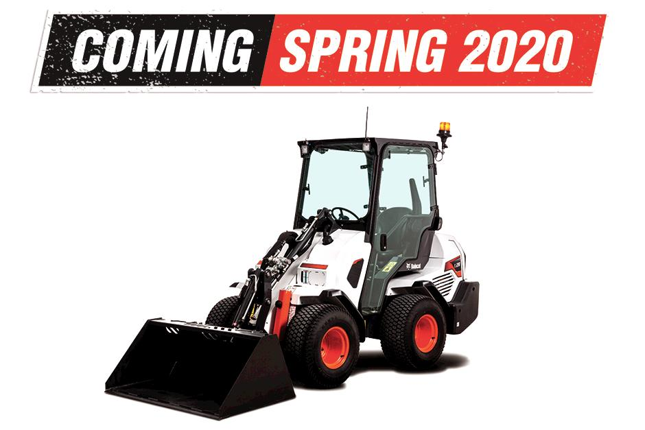New Bobcat Small Articulated Loader Coming in 2020.