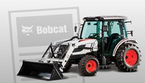 Bobcat Compact Tractor With Bobcat News Icon
