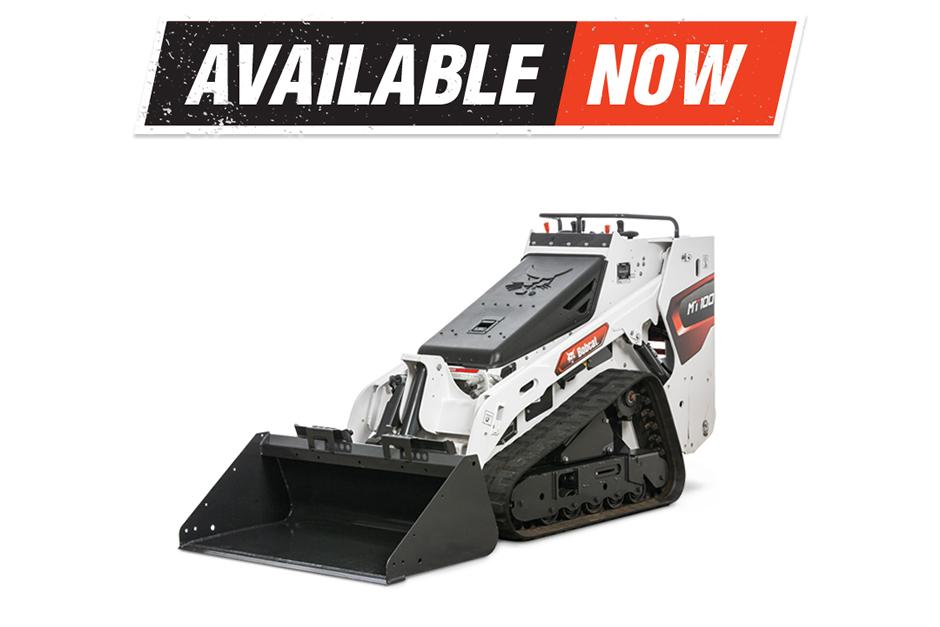 New MT100 Mini Track Loader Available Now