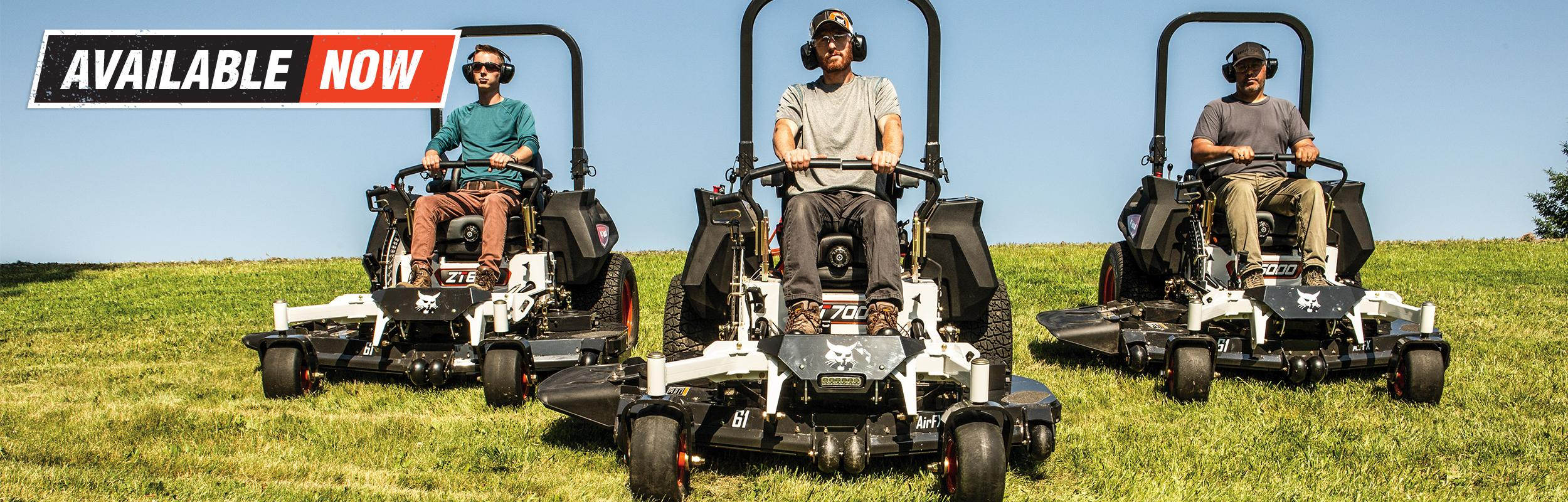 New Bobcat Mowers Now Available