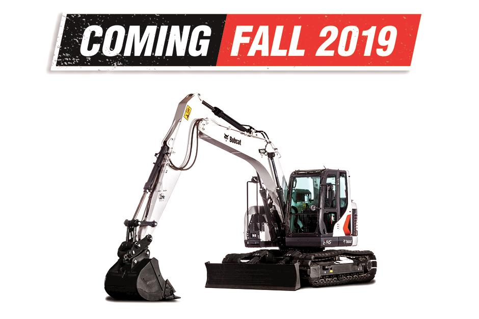 New Bobcat E145 Excavator Now Available