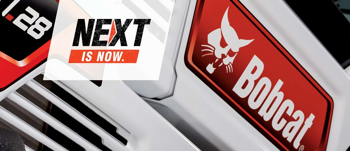 Compact Tractor and R-Series Compact Loader on Next Is Now Graphic