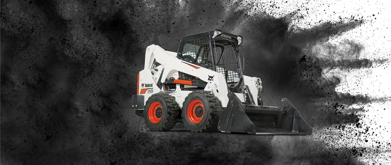 Bobcat S650 skid-steer loader video.