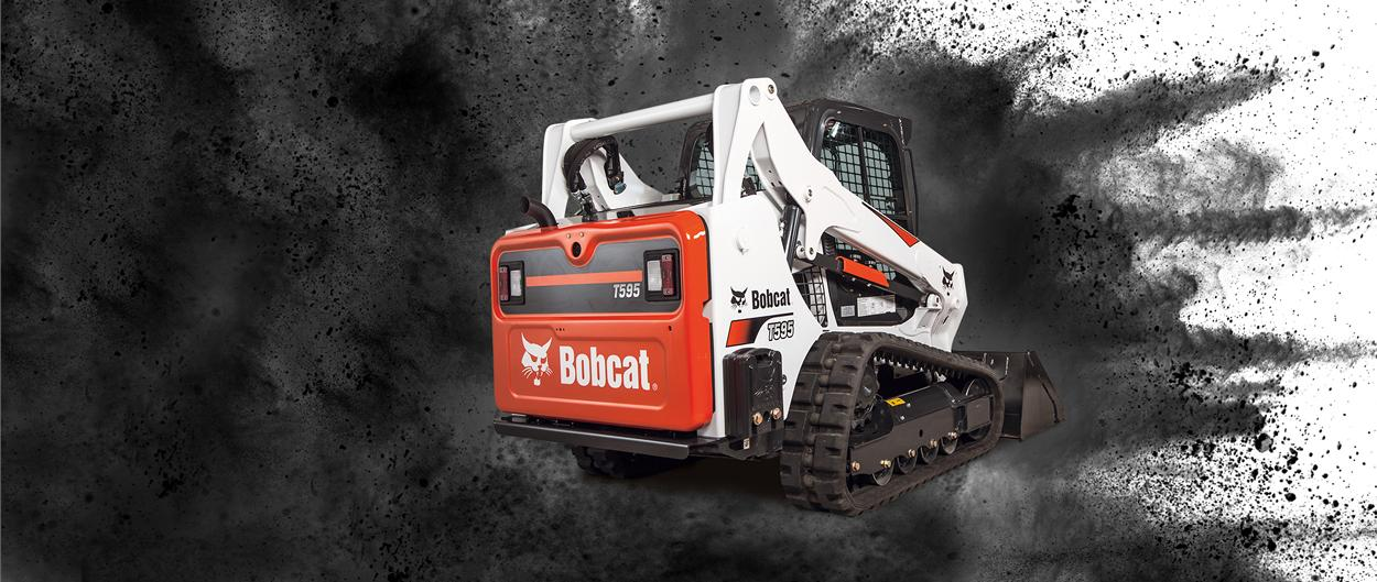 Bobcat T595 compact track loader video.