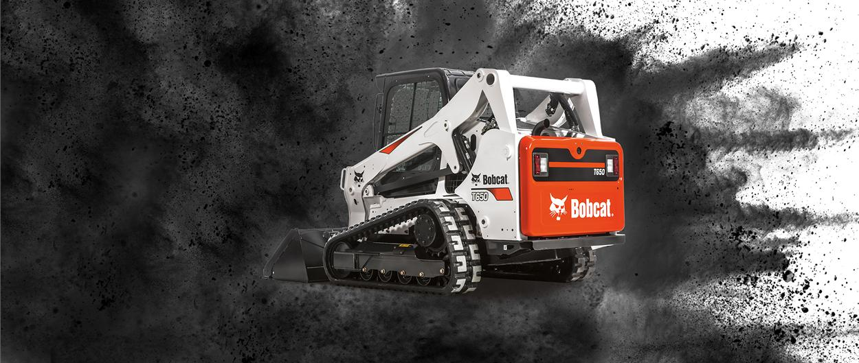 Bobcat T650 compact track loader video.