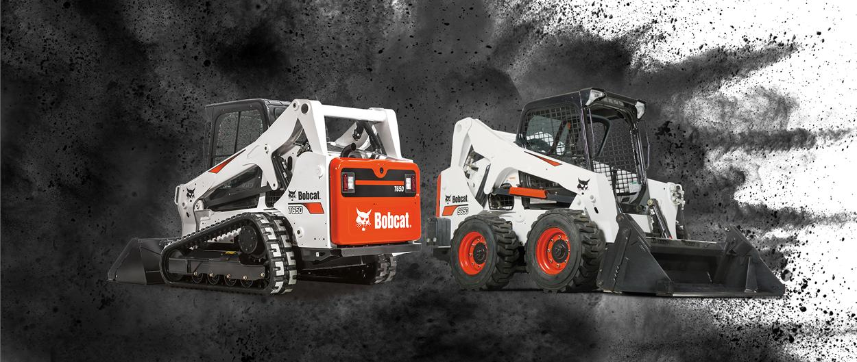 Bobcat T650 compact track loader and S650 skid-steer loader special offer.