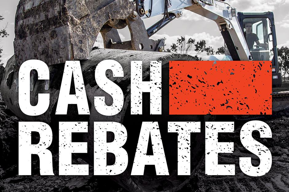 Bobcat Equipment Cash Rebate Special Offer Image