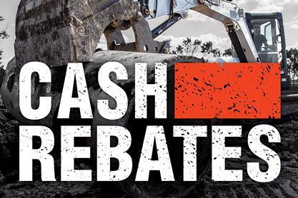 Bobcat Equipment Rebate Specials