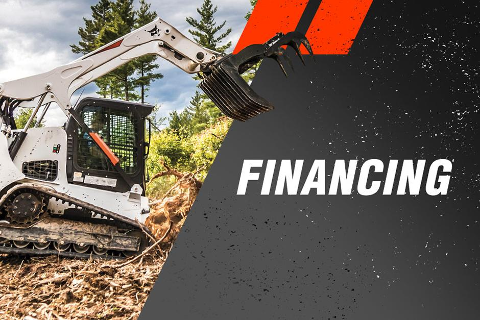 Financing Offer For Bobcat Skid-Steer And Compact Track Loaders