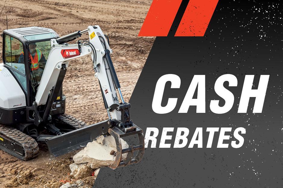 Bobcat Mini Excavator Cash Rebate Special