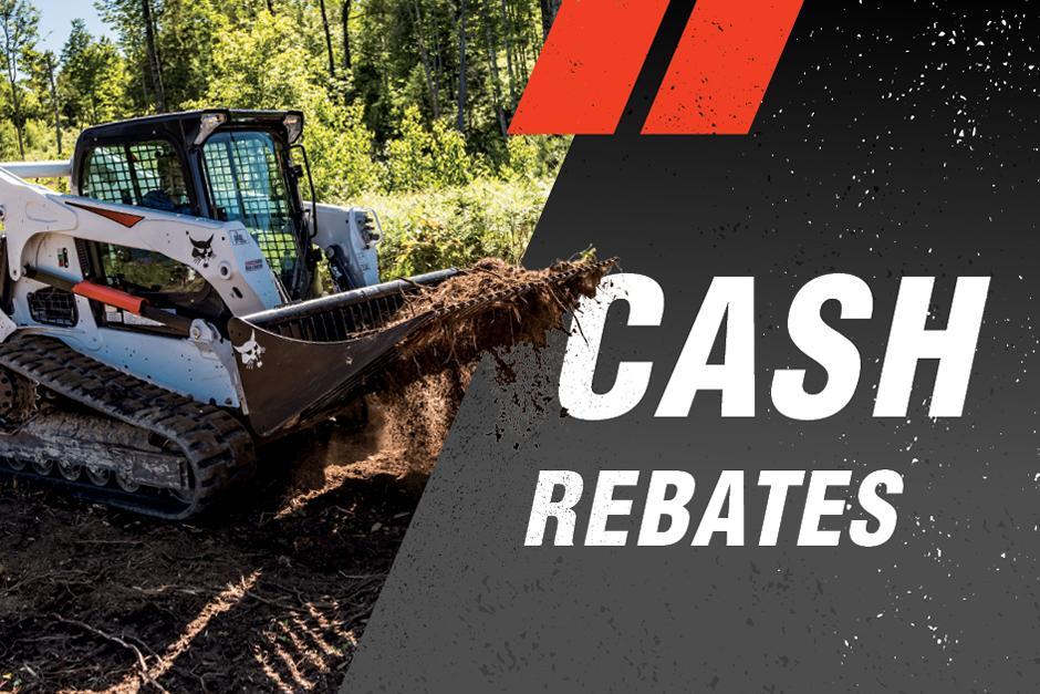 Bobcat Compact Loader Cash Rebate Deals