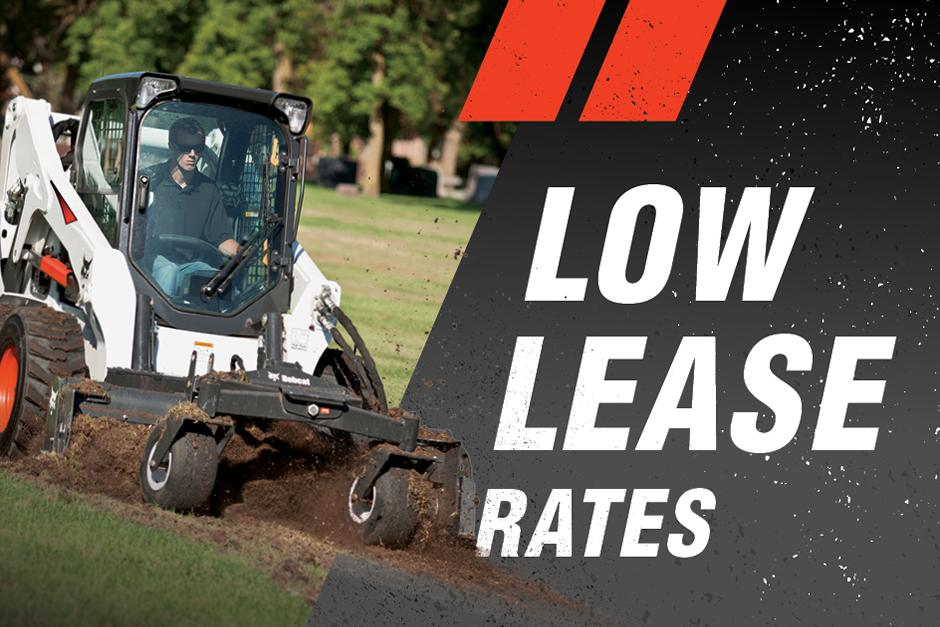 Bobcat Compact Loader Low Lease Rate Promotion