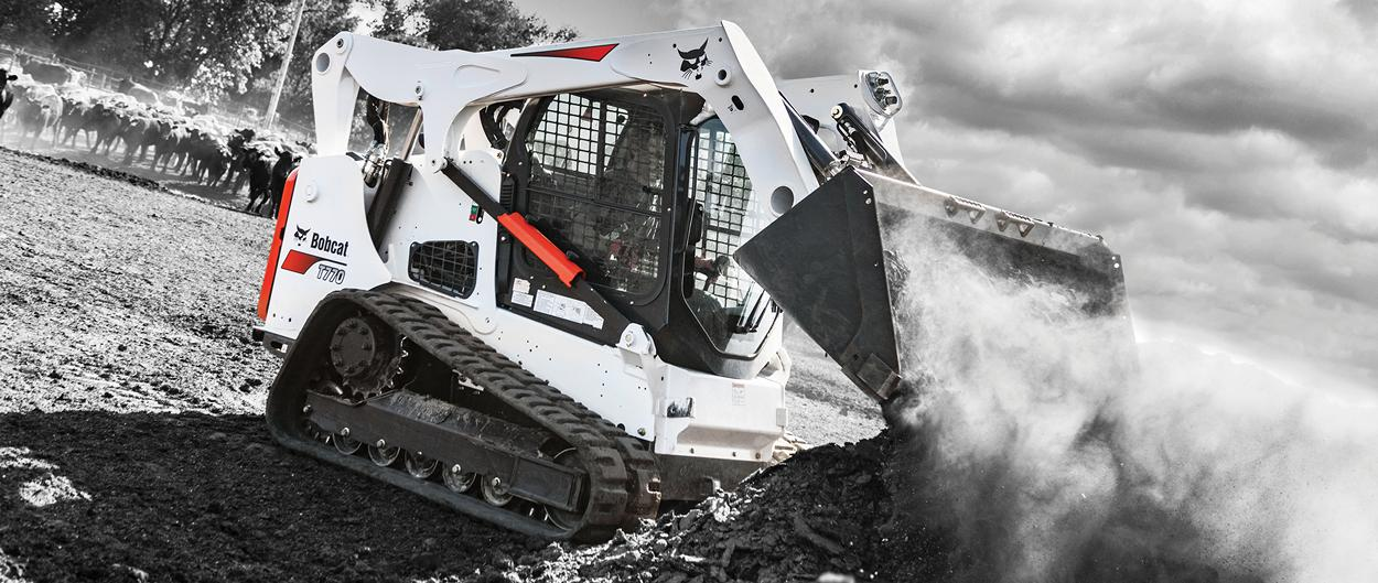 Bobcat T770 Compact Track Loader Purchased With Special Sales Offer