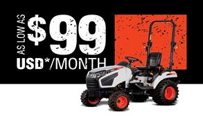 Bobcat Compact Tractor Sales Program Promotional Image