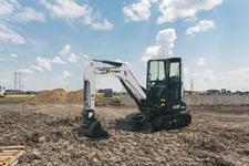 Bobcat E32 25 hp compact (mini) excavator