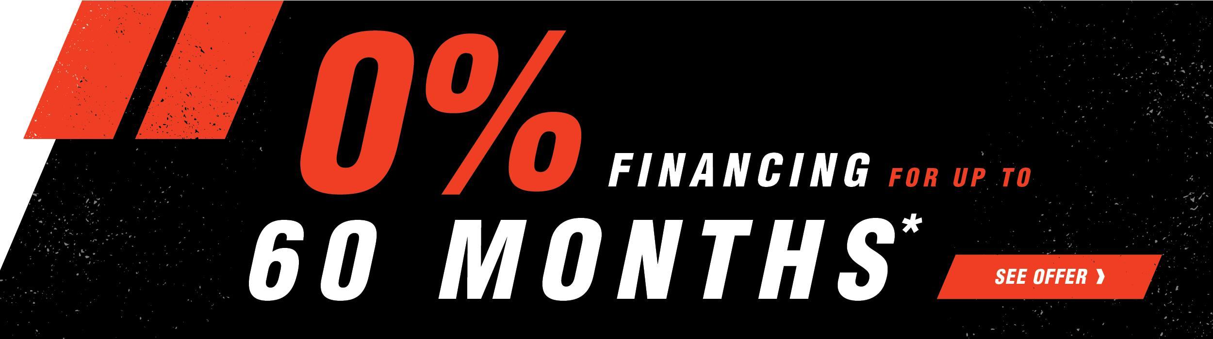 Bobcat Financing Sales Promotional Image
