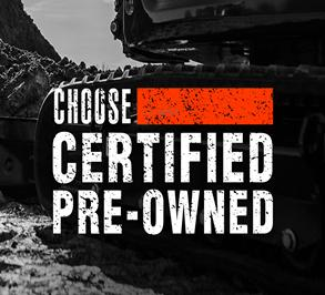 Choose Certified Pre-Owned Bobcat Promo Badge