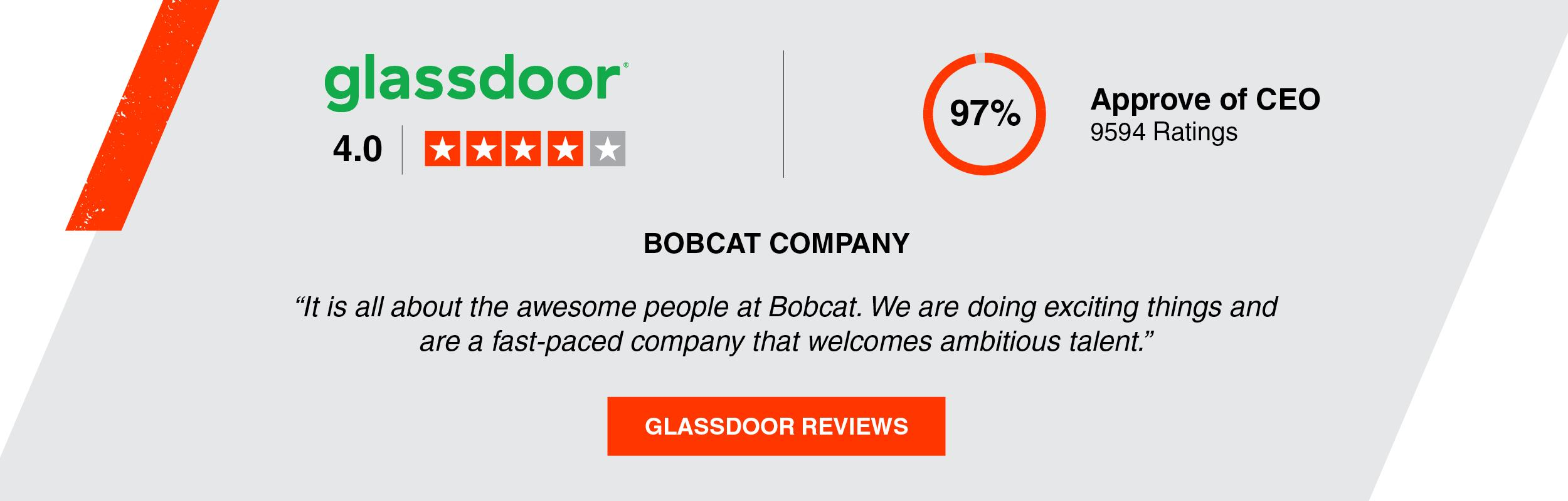 Bobcat Company Glassdoor Reviews