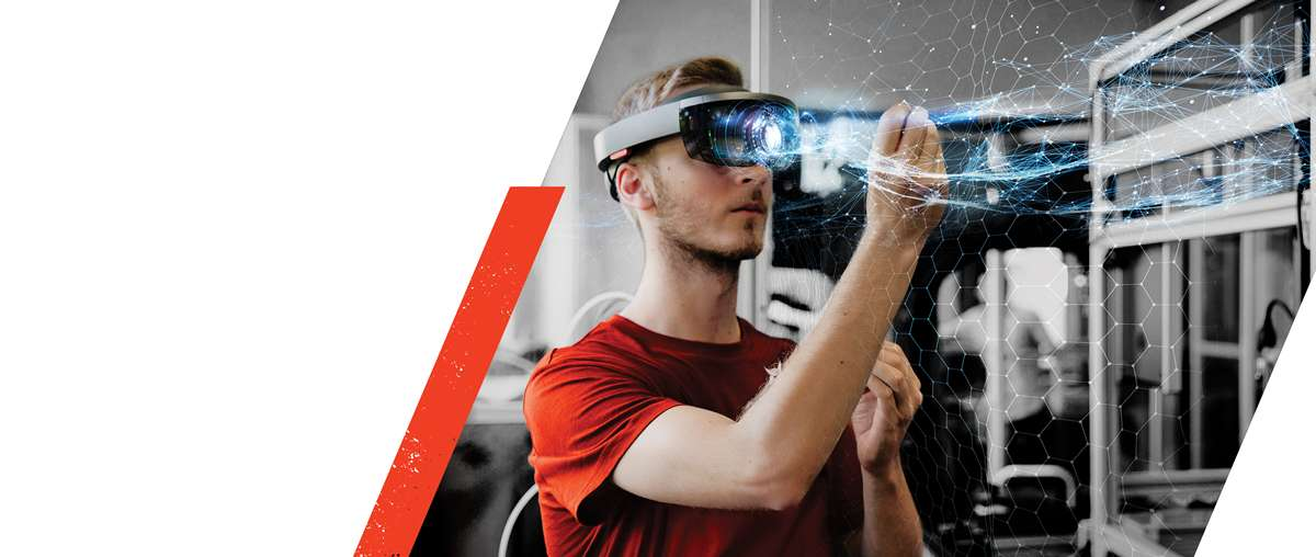 Bobcat Engineer Using Virtual Reality