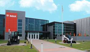 Bobcat North America Headquarters Located In Fargo, North Dakota