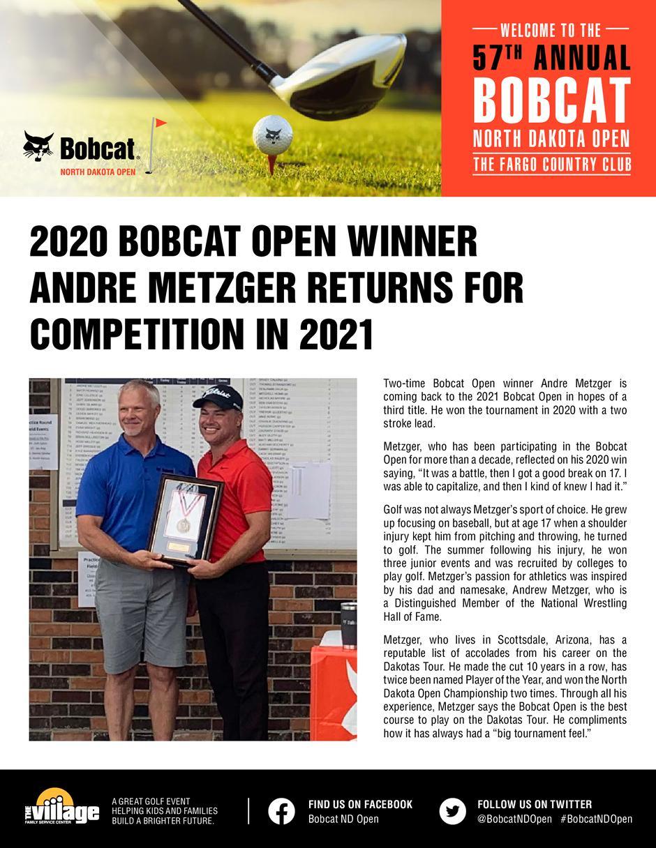 2020 Bobcat North Dakota Open News
