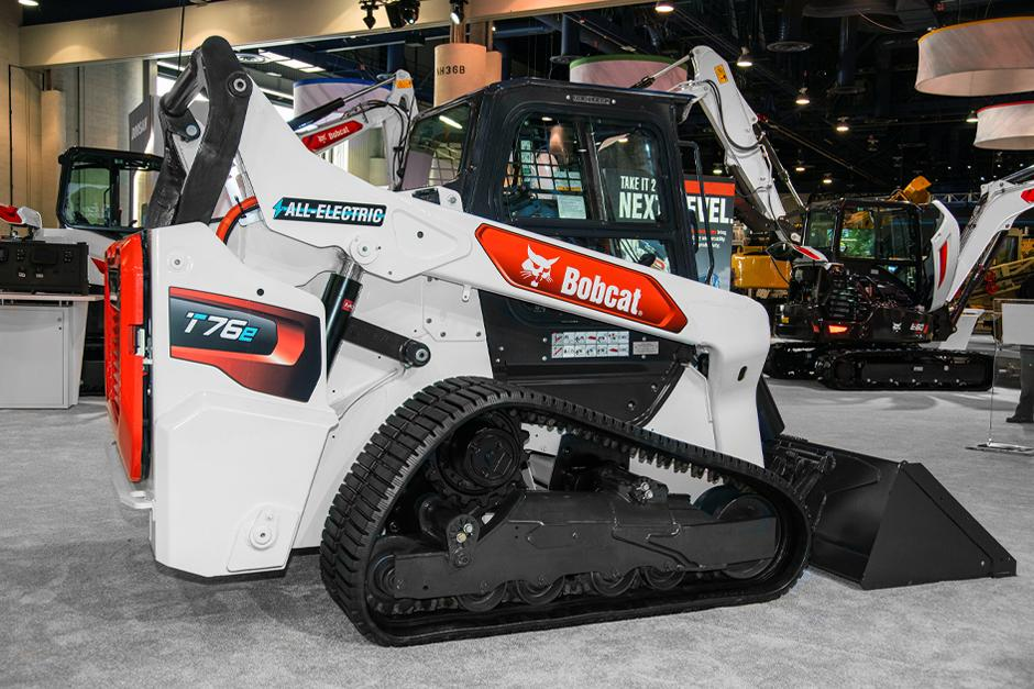 Electric Skid-Steer Loader From Bobcat Promotional Image