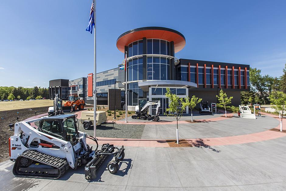 Bobcat Headquarters In West Fargo, North Dakota