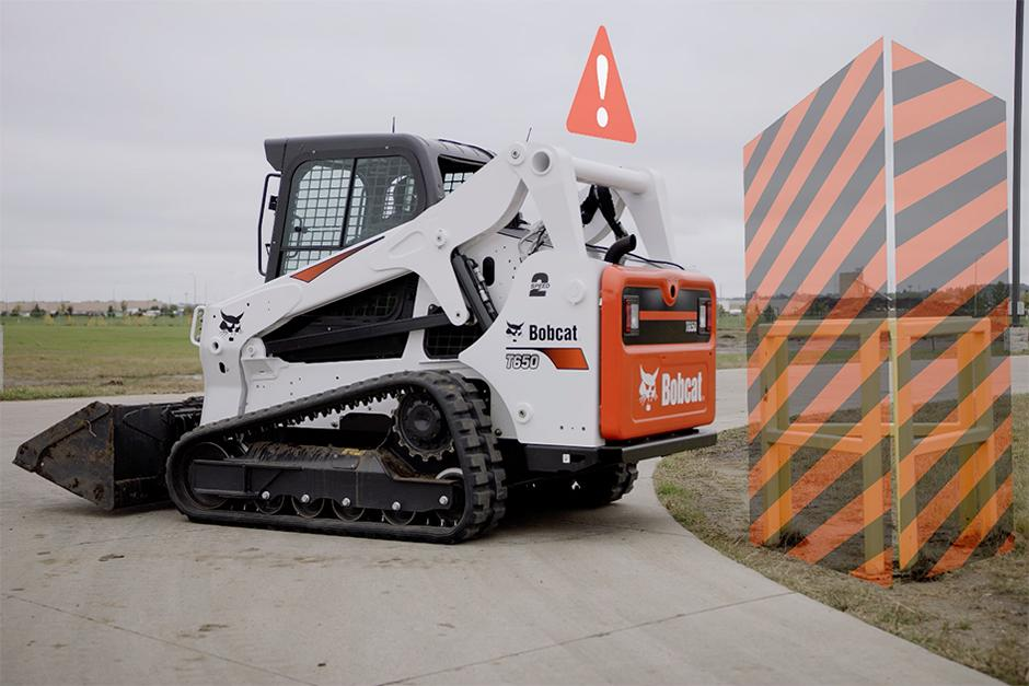 Bobcat Jobsite Geofencing Technology On A Compact Track Loader