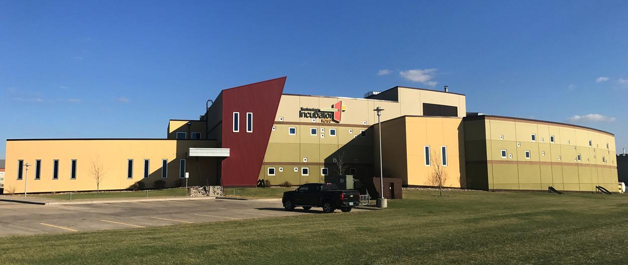 NDSU Technology Incubator in Fargo, North Dakota.