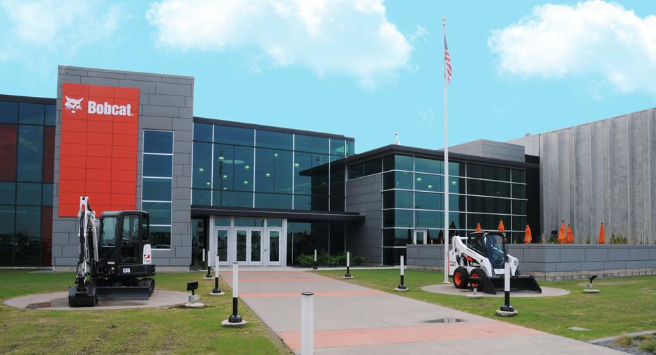 Bobcat North America headquarters located in Fargo North Dakota