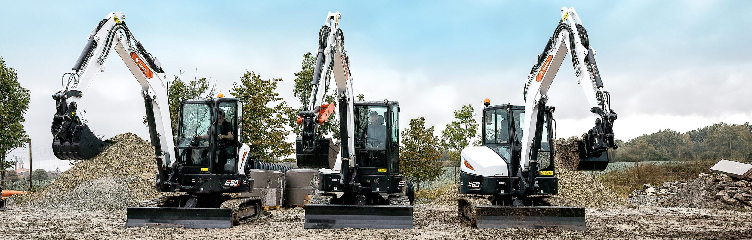 R2-Series Excavators