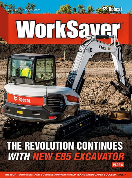 Cover from current WorkSaver magazine.