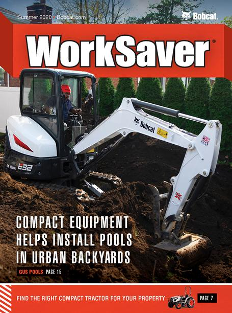 Cover From Current Issue Of WorkSaver Magazine