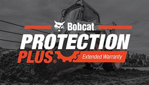 Bobcat Loader With Protection Plus® Extended Warranty Logo
