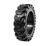 Solid air Bobcat skid-steer loader tire.