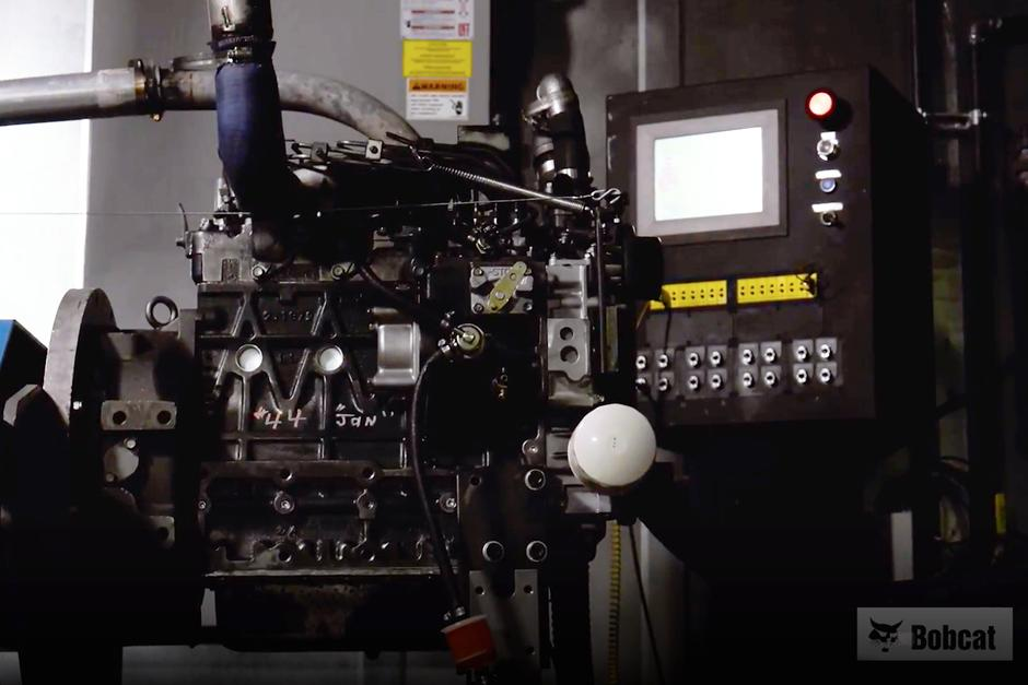 Video showing Bobcat remanufactured parts process.