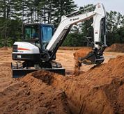 Bucket Compact Excavator