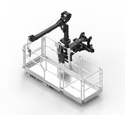 Expandable man platform with winch