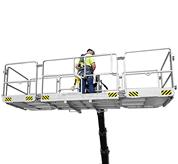 Expandable man platforms