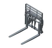 Bobcat Pallet forks for Telescopic loaders and Telescopic Handlers