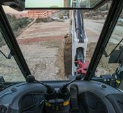 Backhoe Loaders - Improved Visibility