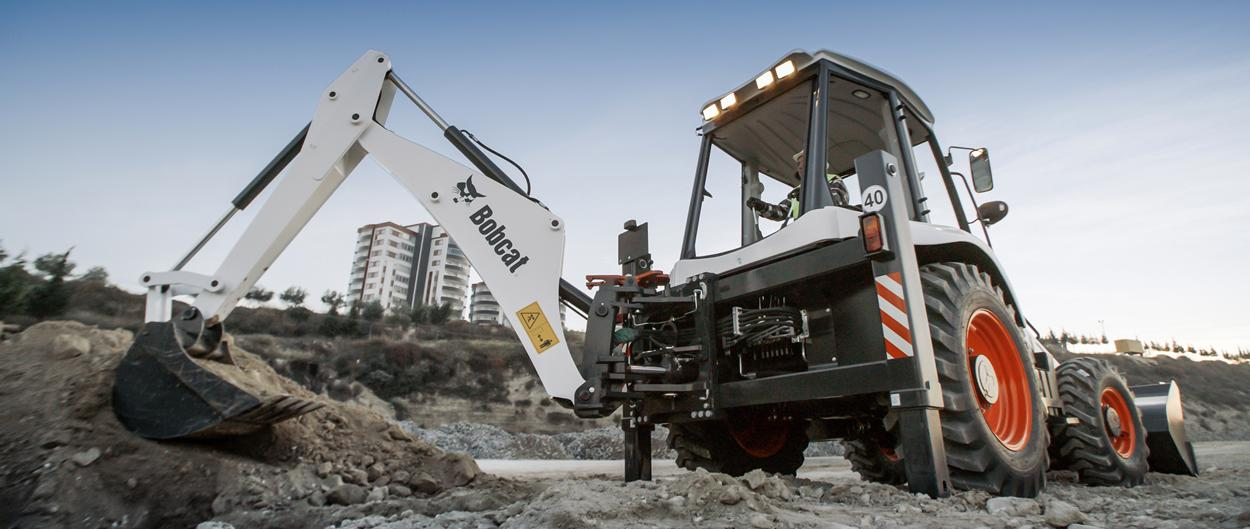 Bobcat Backhoe loader