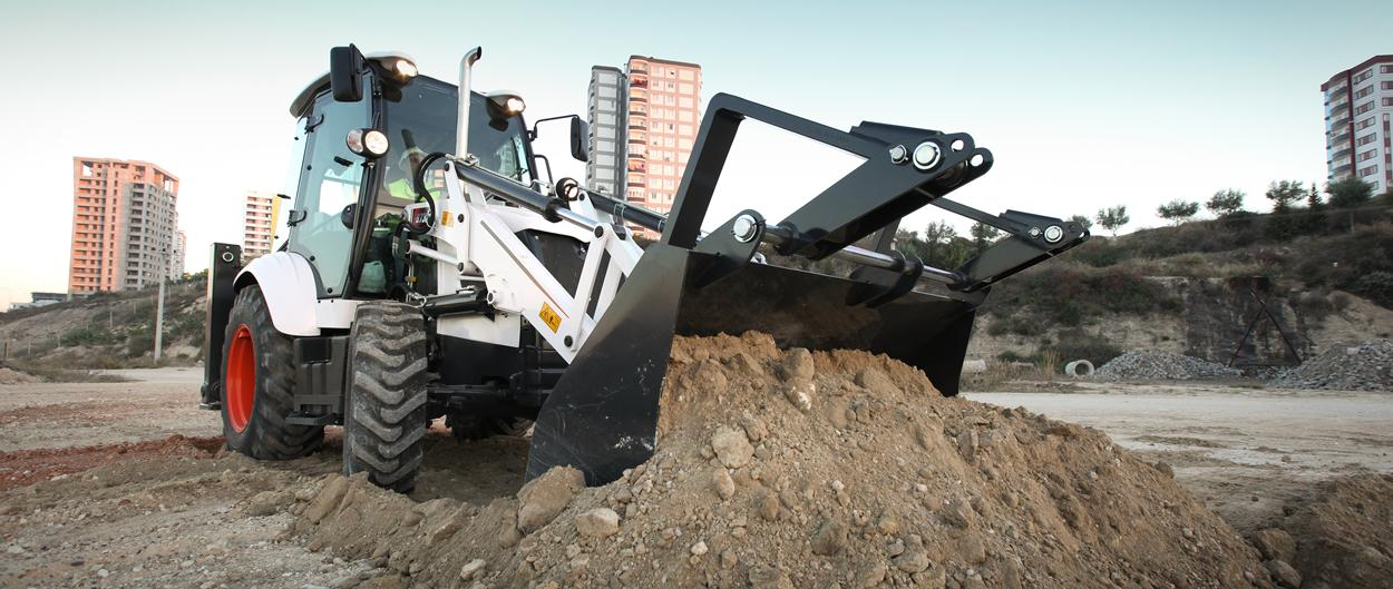backhoe loaders B730