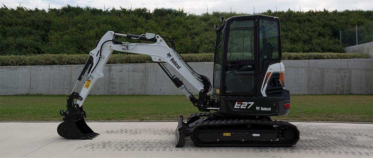 E27 Kompaktbagger Bobcat