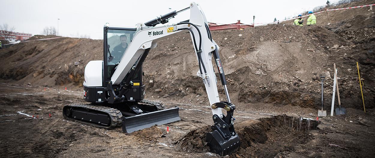 Escavatore Compatto Bobcat E35z